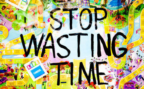 There's not enough time to do ALL THE THINGS.