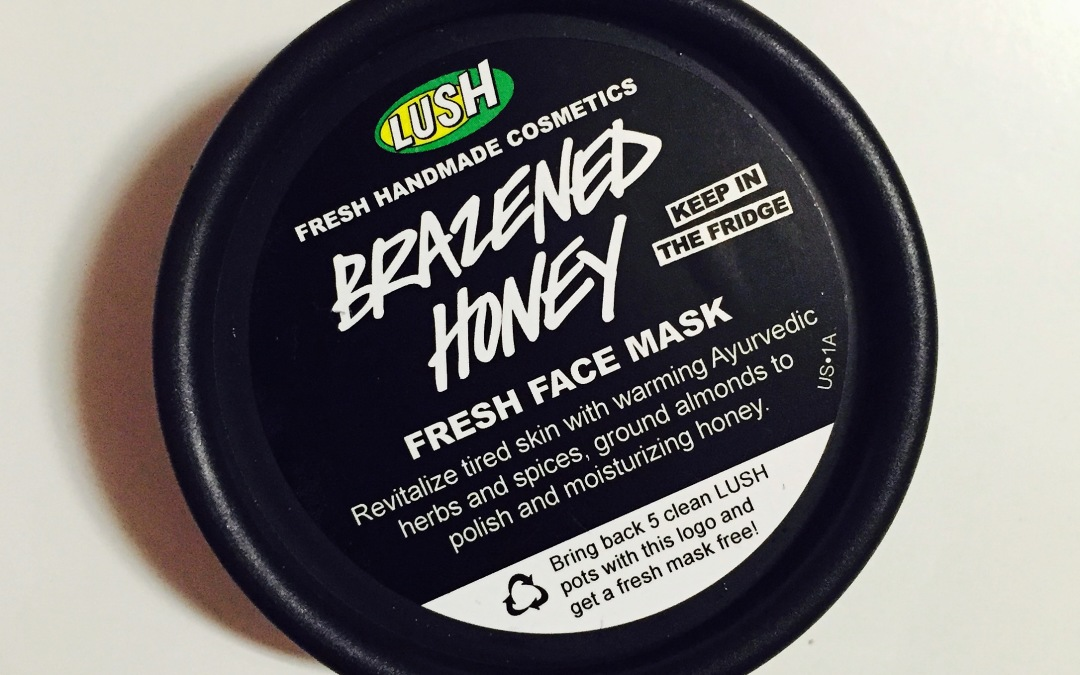 First Impression: Lush Brazened Honey Fresh Face Mask
